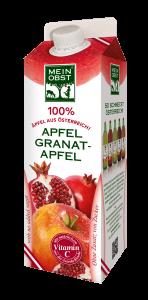 Apfel Granatapfelsaft